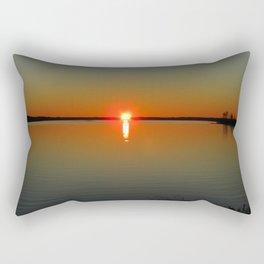 Pregnant Pause of a Downeast Evening Rectangular Pillow