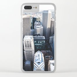 Financial District - San Francisco, CA Clear iPhone Case
