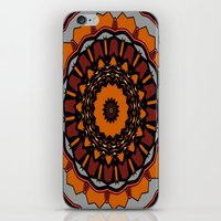 gladiator iPhone & iPod Skins featuring Furious Gladiator by Silentwolf