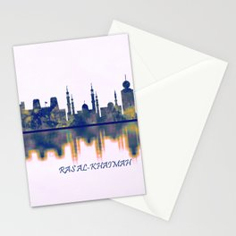 Ras Al-Khaimah Skyline Stationery Cards