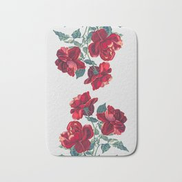 Red Roses Bath Mat