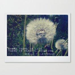 Wishful Thinking Canvas Print