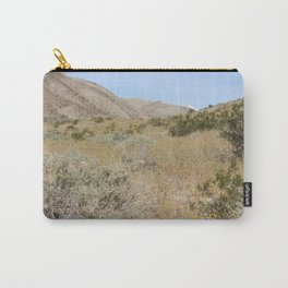 Mountain Wildflower Bloom Coachella Valley Wildlife Preserve Carry-All Pouch