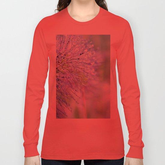 raindrops on grass Long Sleeve T-shirt