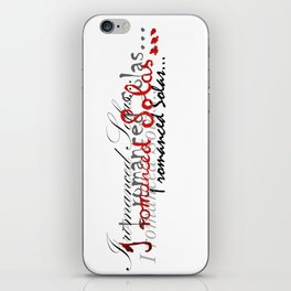 Romanced iPhone Skin