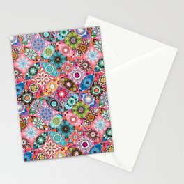 Moroccan bazaar | pink Stationery Cards
