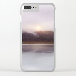 Sunset v5 Clear iPhone Case
