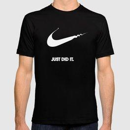 Nike - Just Did It (Parody) T-shirt