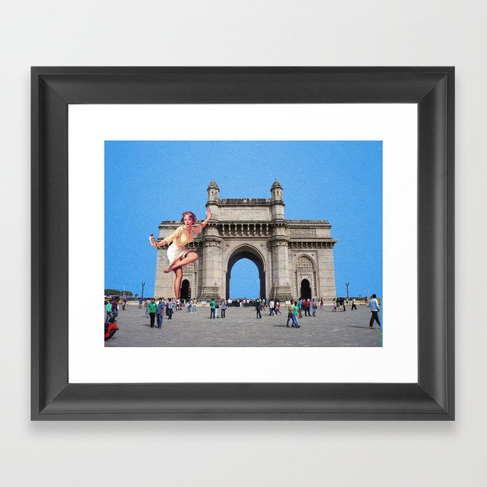 Gatway To India Framed Art Print