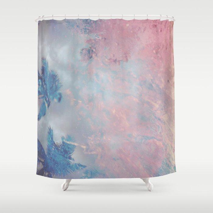 DESERT ICE Shower Curtain