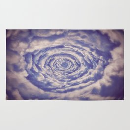 Round Clouds Rug