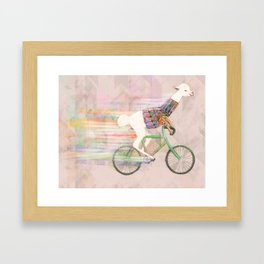 Look At Me Mom!  Framed Art Print