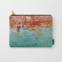 Teal Rust Carry-All Pouch
