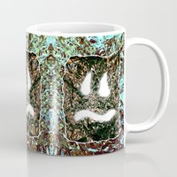 heavy metal Mugs featuring Heavy Metal by cahill wessel
