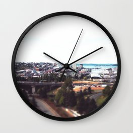 Grit City Wall Clock