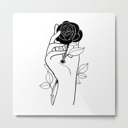 Hurt inside Metal Print