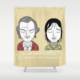 W & J Shower Curtain