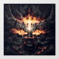 diablo Canvas Prints featuring Diablo by dracorubio