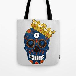Rey de las calaveras  Tote Bag