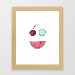 Happy Fruit II Framed Art Print