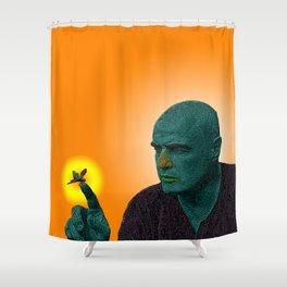 Apocalypse Now Marlon Brando Shower Curtain