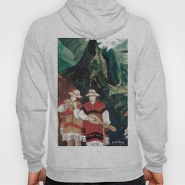 The ANDES             by Kay Lipton Hoody