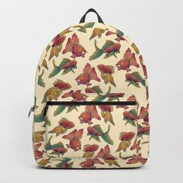 pastel goldfish // dancing floating fish Backpack