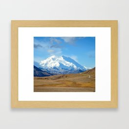 Denali Framed Art Print