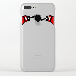 Boxe Engine(1) Clear iPhone Case