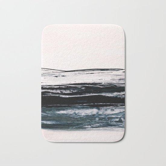 abstract minimalist landscape 9 Bath Mat