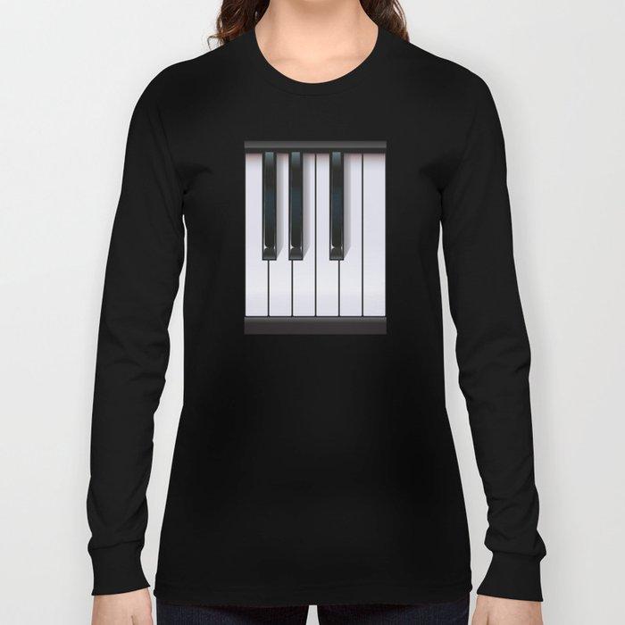 Piano Long Sleeve T-shirt