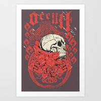 occult Art Prints featuring Occult Religion by Tshirt-Factory