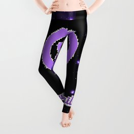 Tough As Nails - Purple Sparks and Butterflies Leggings