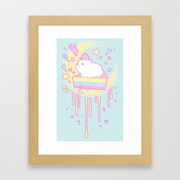 Sweet Hamster Framed Art Print