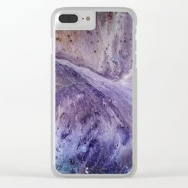 Spyre in Space Clear iPhone Case