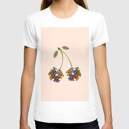 Cherry rubik T-shirt