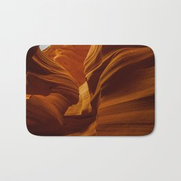 Girl Image in Antelope Canyon Bath Mat