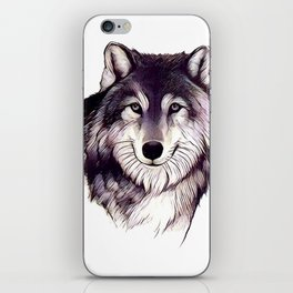 Wolfe Smile iPhone Skin