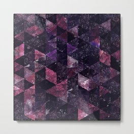 Abstract Geometric Background #13 Metal Print