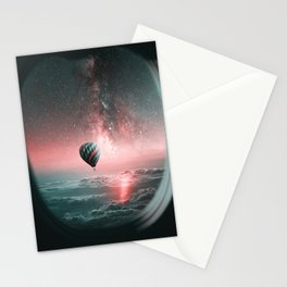 Never let the fear of falling keep you from flying Stationery Cards