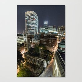 London, the Walkie Talkie Canvas Print