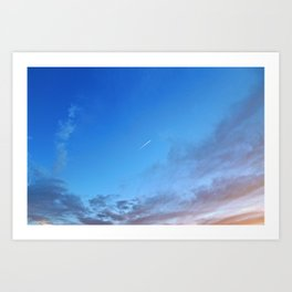 NEVER STOP FLYING HIGH Art Print