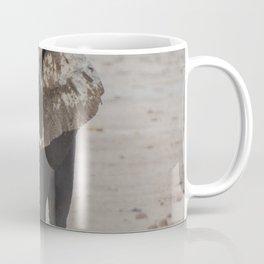 GRAY ELEPHANT NEAR TWO DEERS Coffee Mug