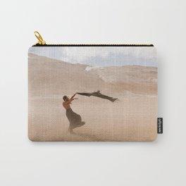 desert dust storm Carry-All Pouch