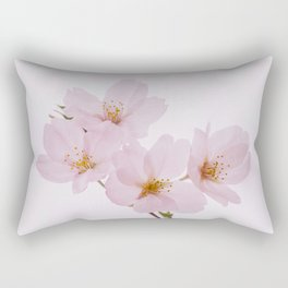 Beautiful spring cherry blossoms at Yoyogi Park in Tokyo Rectangular Pillow