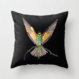 Bird Ripple  Throw Pillow