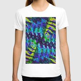 crazy fish T-shirt