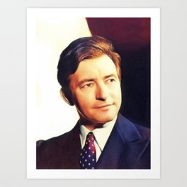 Claude Rains, Vintage Actor Art Print