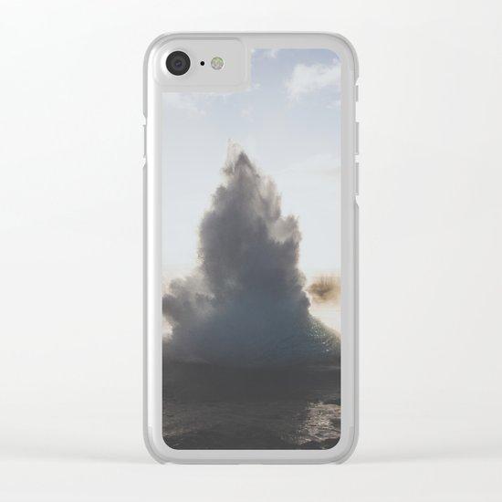 Geysir, Iceland Clear iPhone Case
