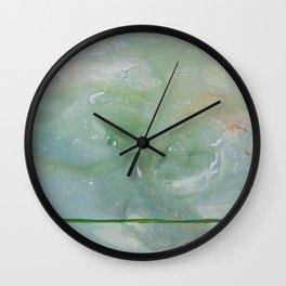 Roma Green Wall Clock